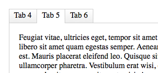 CSS3-Only Tabbed Area | CSS-Tricks