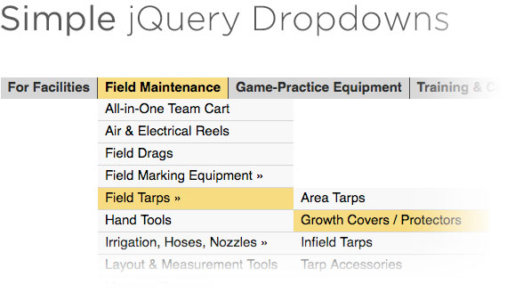 Simple jQuery Dropdowns | CSS-Tricks