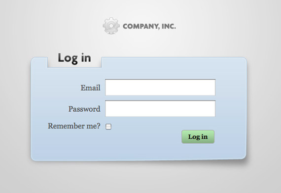 modal login pages css tricks