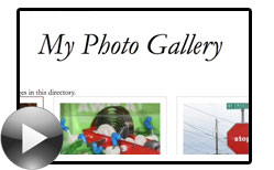 Thumbnail for #64: Building a Photo Gallery
