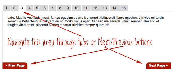 jQuery UI Tabs with Next/Previous | CSS-Tricks