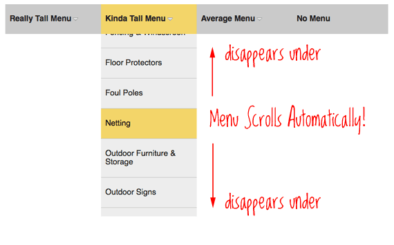 Solution For Very Long Dropdown Menus | CSS-Tricks