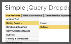 Thumbnail for Simple jQuery Dropdowns demo