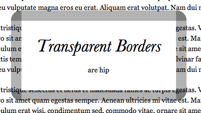 transparent borders with background clip css tricks