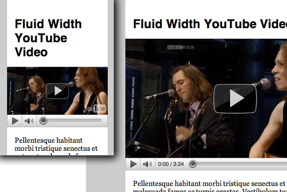 Fluid Width YouTube Videos | CSS-Tricks