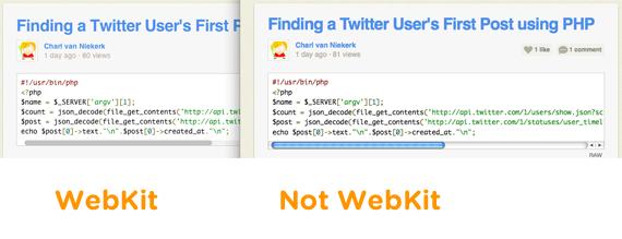Custom Scrollbars in WebKit | CSS-Tricks