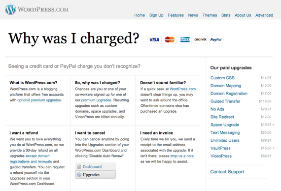Good Idea What Is This Charge On My Credit Card Page CSSTricks - Paypal invoice fee
