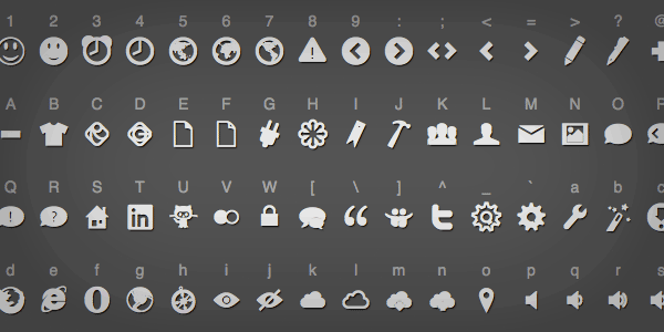 The Big List of Flat Icons & Icon Fonts   CSS-Tricks