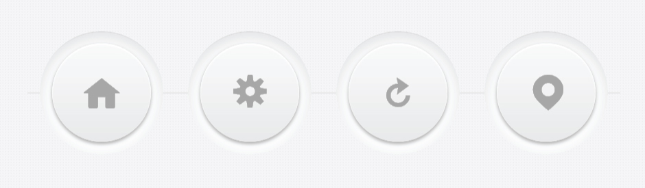 Crafting Minimal Circular 3D Buttons with CSS | CSS-Tricks