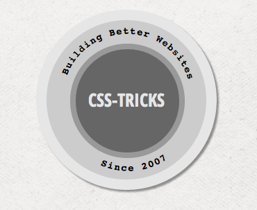 Set Text on a Circle | CSS-Tricks