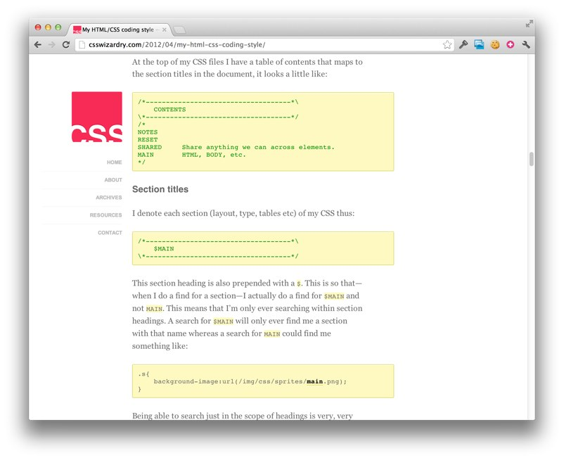 CSS Style Guides   CSS-Tricks