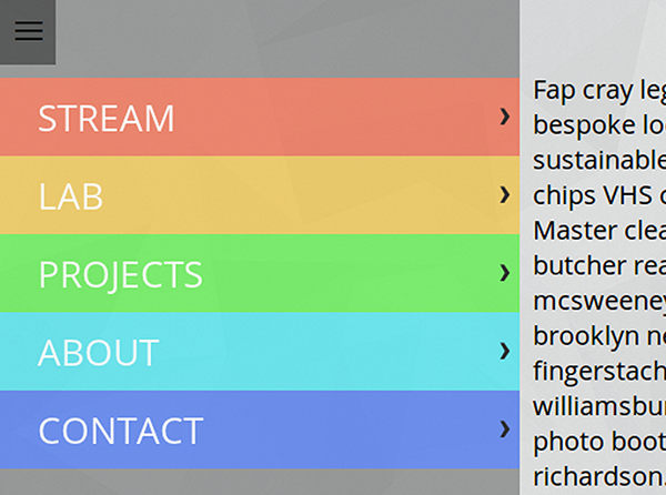 Responsive Menu Concepts | CSS-Tricks