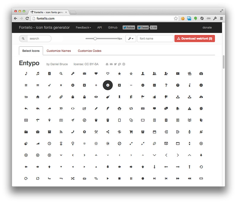 Fontello: The Past and Future of the Icon Font Service | CSS