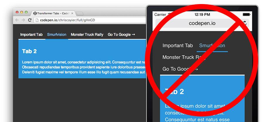 Transformer Tabs | CSS-Tricks