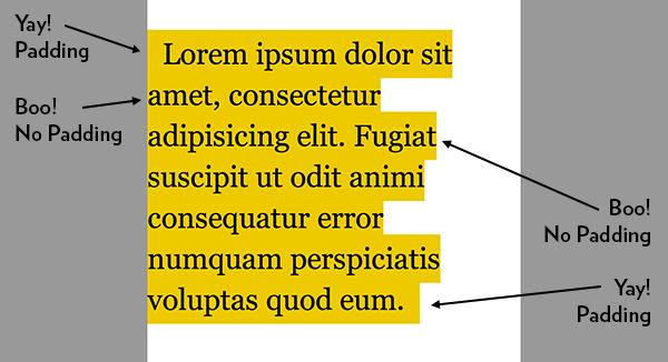 Multi-Line Padded Text | CSS-Tricks
