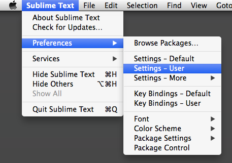 Changing Between Spaces and Tabs in Sublime Text | CSS-Tricks
