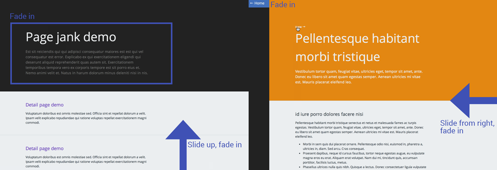 How To Add Page Transitions with CSS and smoothState js