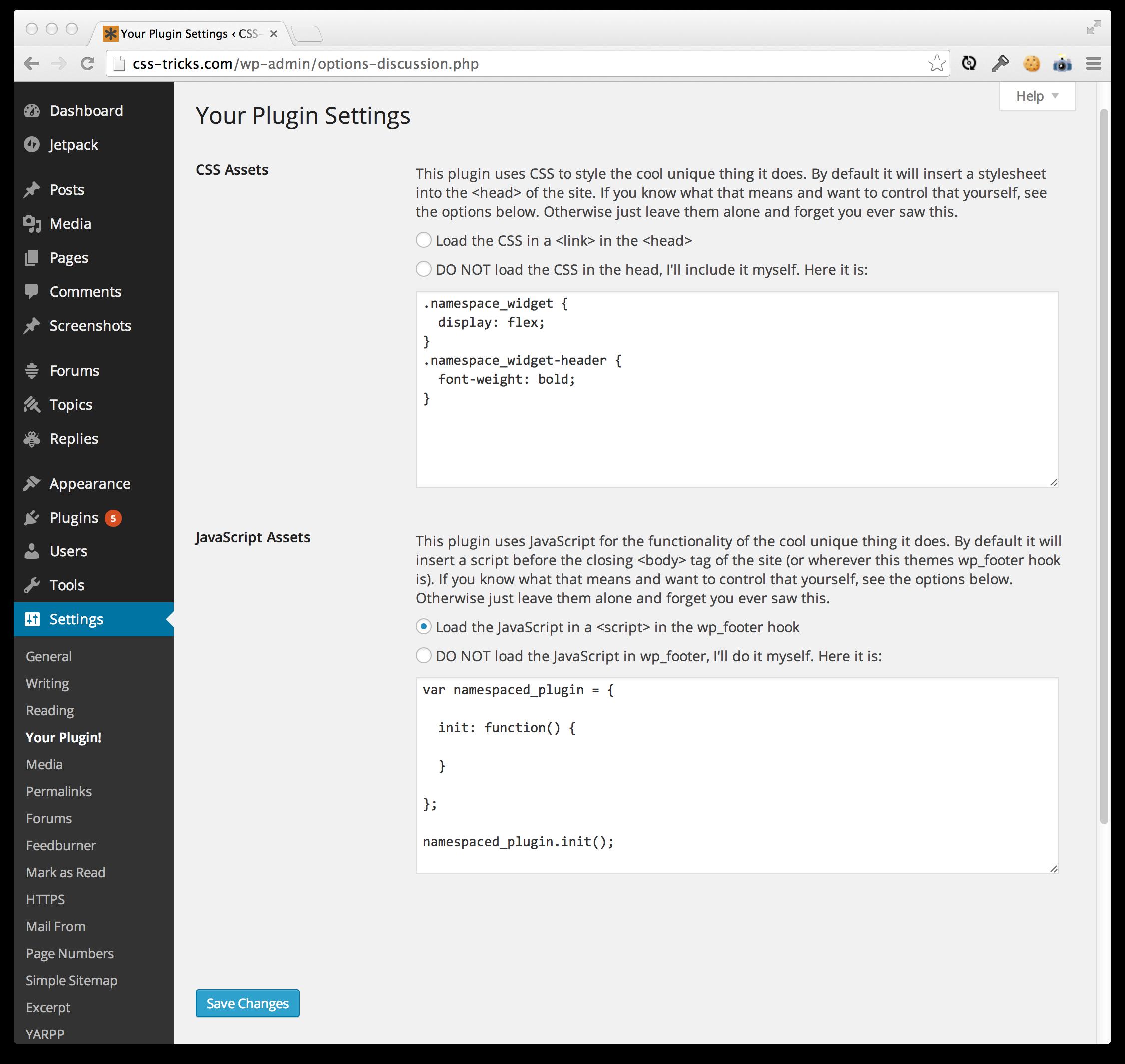 Taking Control of the CSS/JS that WordPress Plugins Load | CSS-Tricks