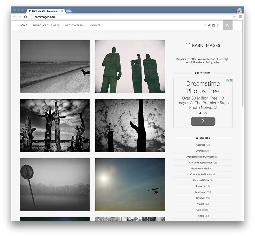Sites with High Quality Photos You Can Use for Free | CSS-Tricks