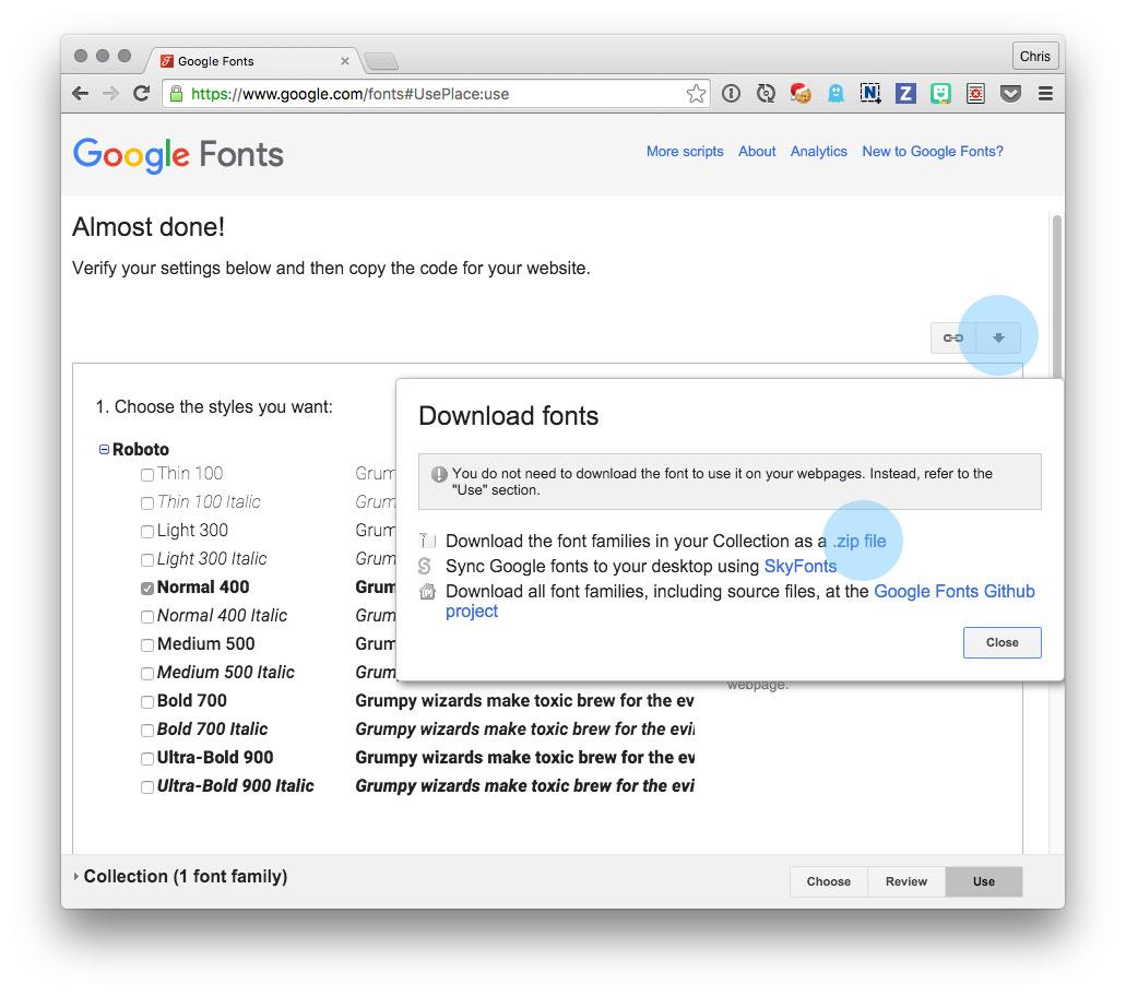 Creating a Web Type Lockup | CSS-Tricks