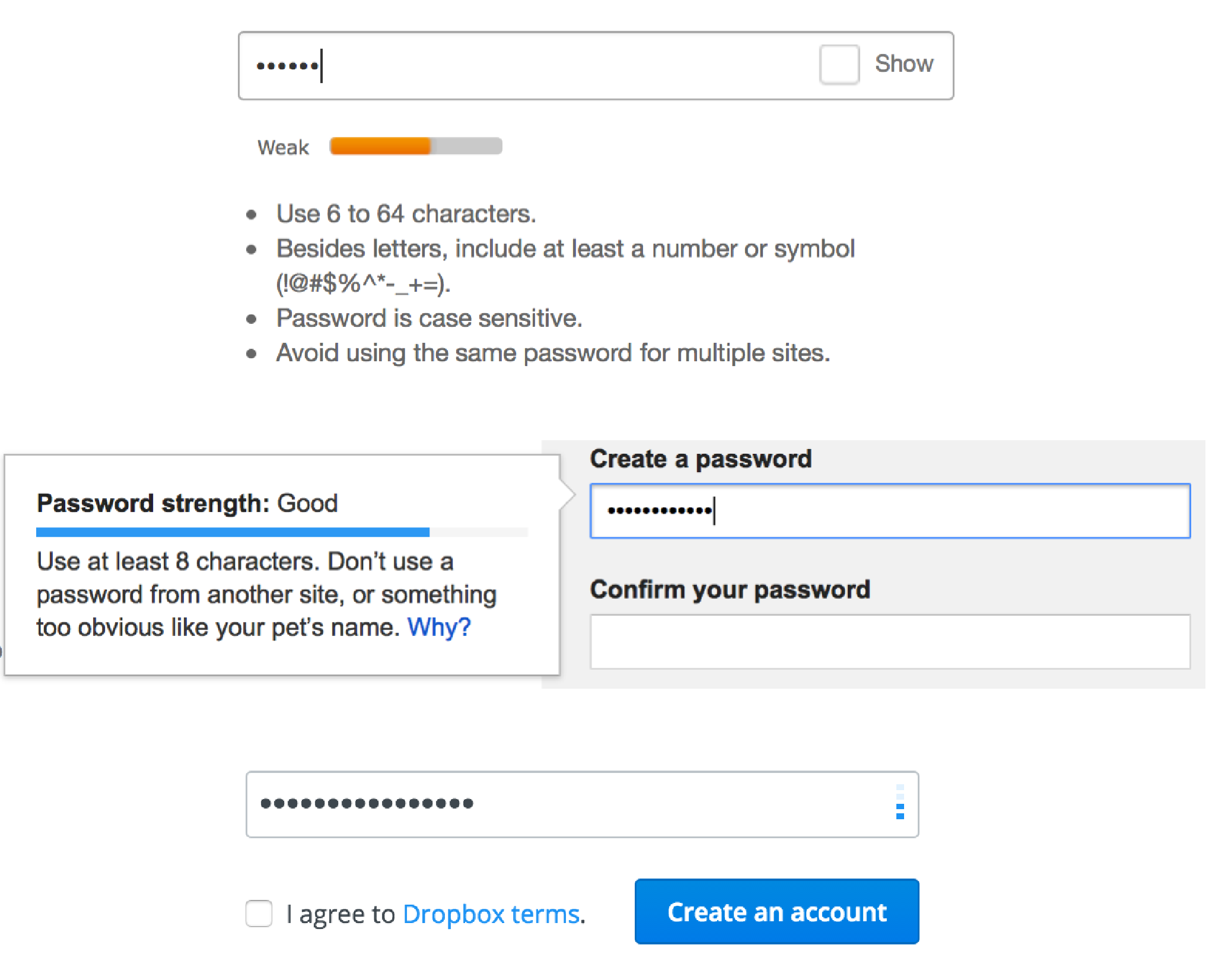 Password Strength `meter` | CSS-Tricks