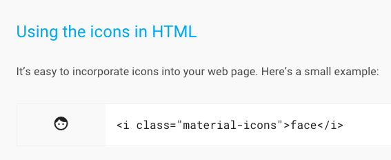 Ligature Icons via Pseudo Elements and Icon Fonts | CSS-Tricks