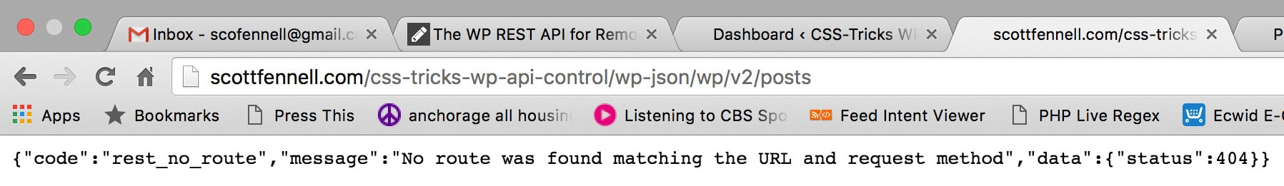 The WP REST API for Remote Control WordPress   CSS-Tricks