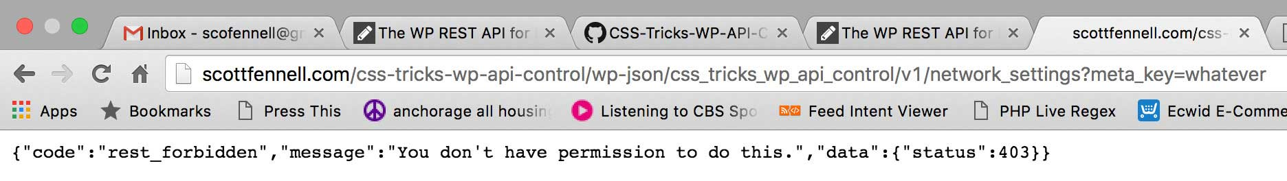 The WP REST API for Remote Control WordPress | CSS-Tricks