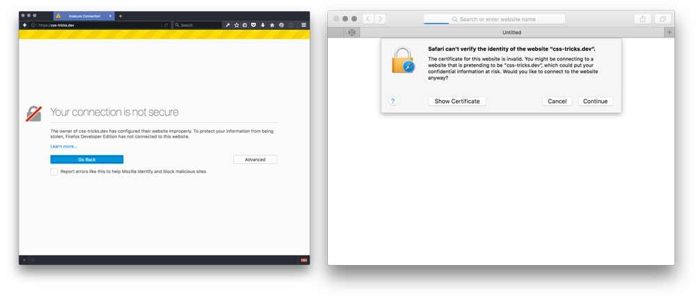 Trusting SSL Locally on a Mac | CSS-Tricks