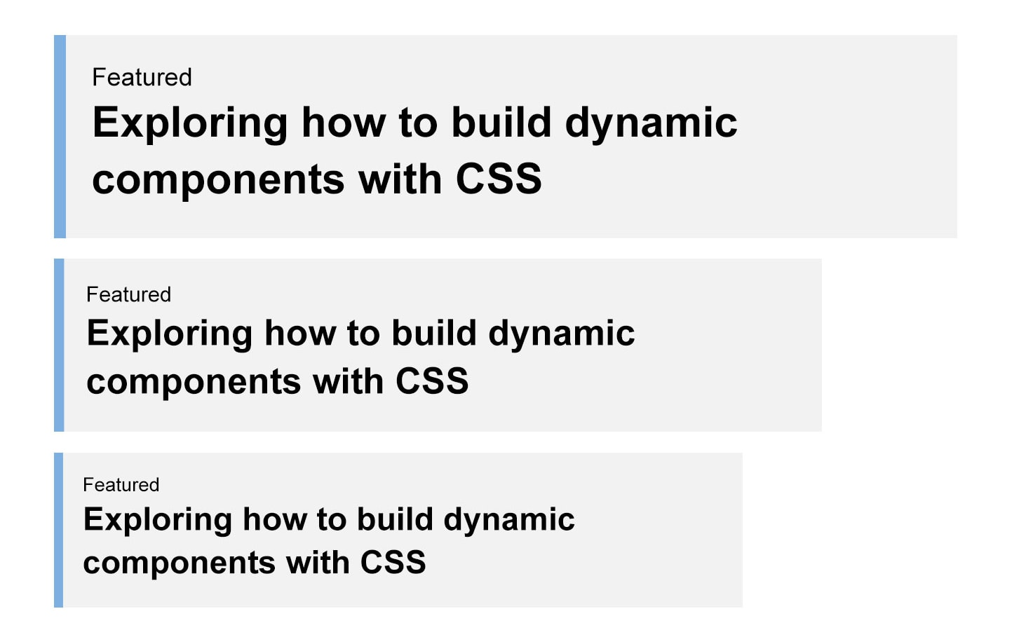 Building Resizeable Components with Relative CSS Units | CSS