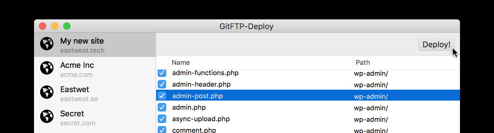 GitFTP-Deploy | CSS-Tricks