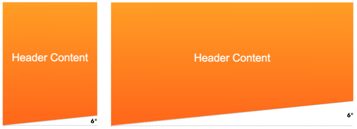 Creating Non-Rectangular Headers | CSS-Tricks