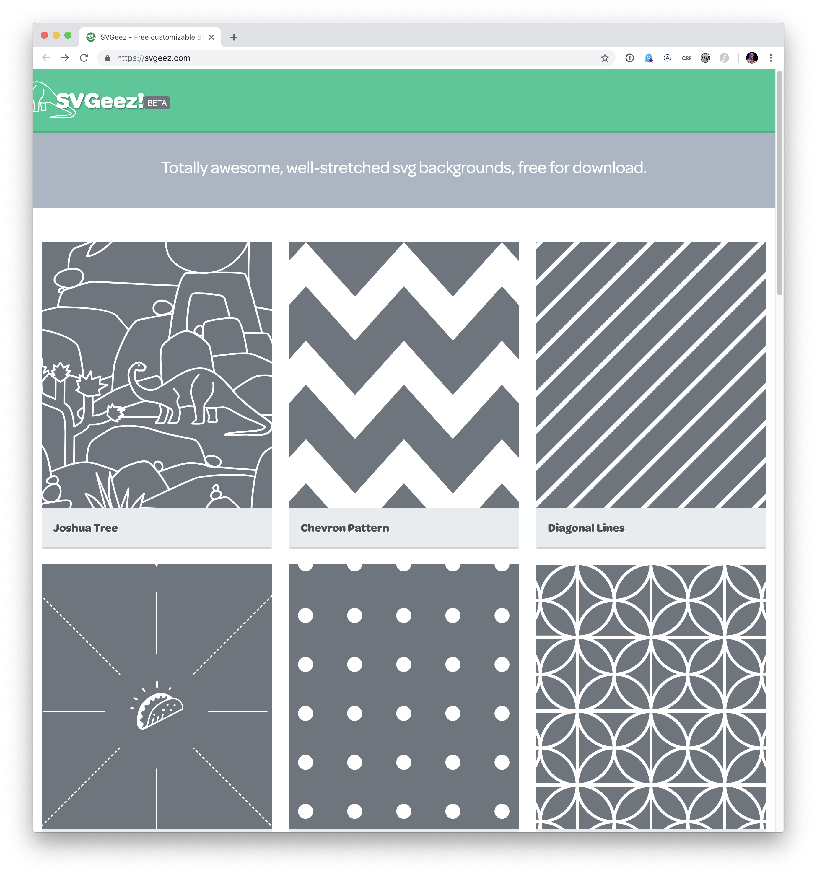 Websites to Generate SVG Patterns | CSS-Tricks
