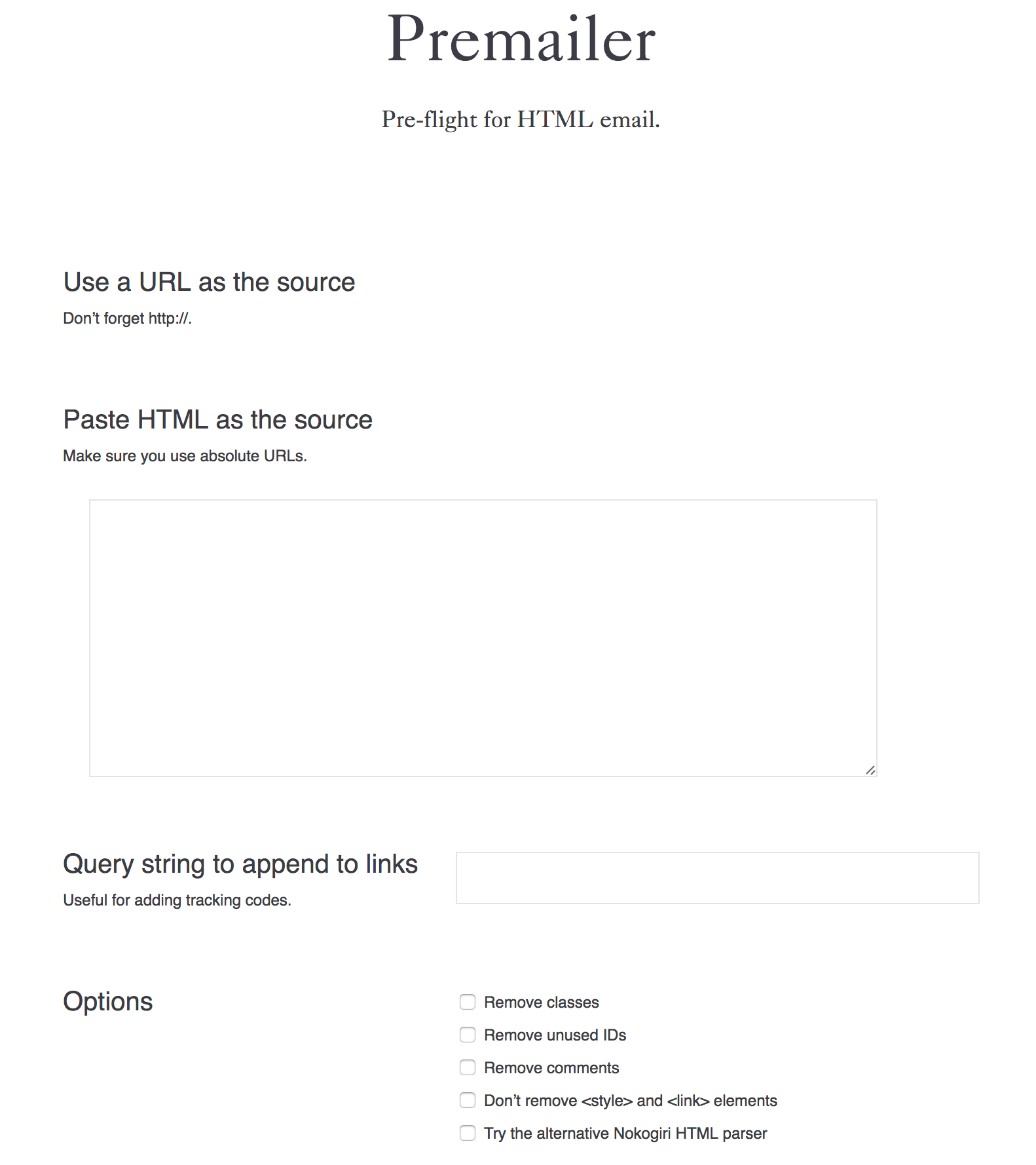 The Tools Of An Html Email Workflow Css Tricks