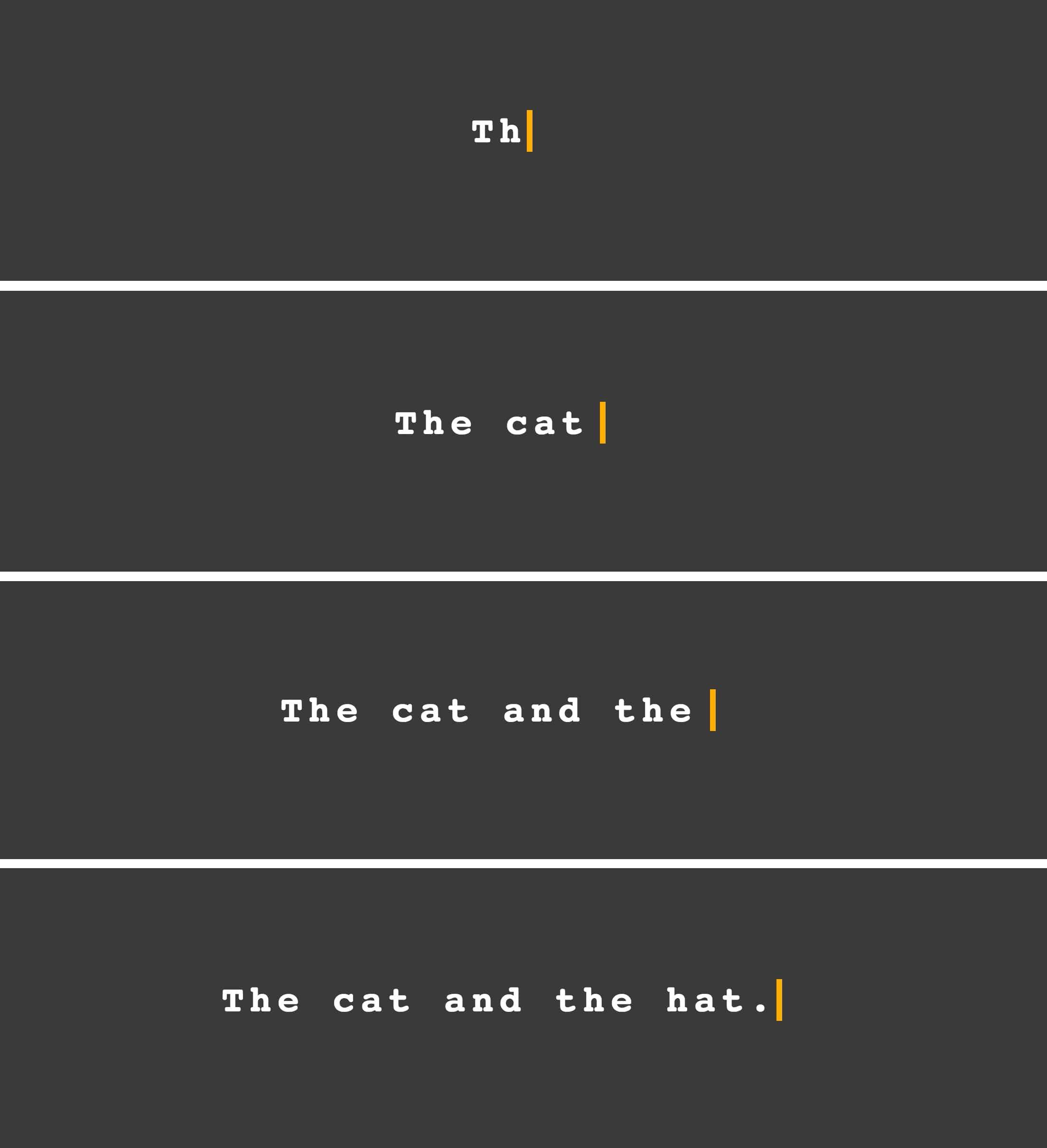 Animate Text Like a Typewriter | CSS-Tricks