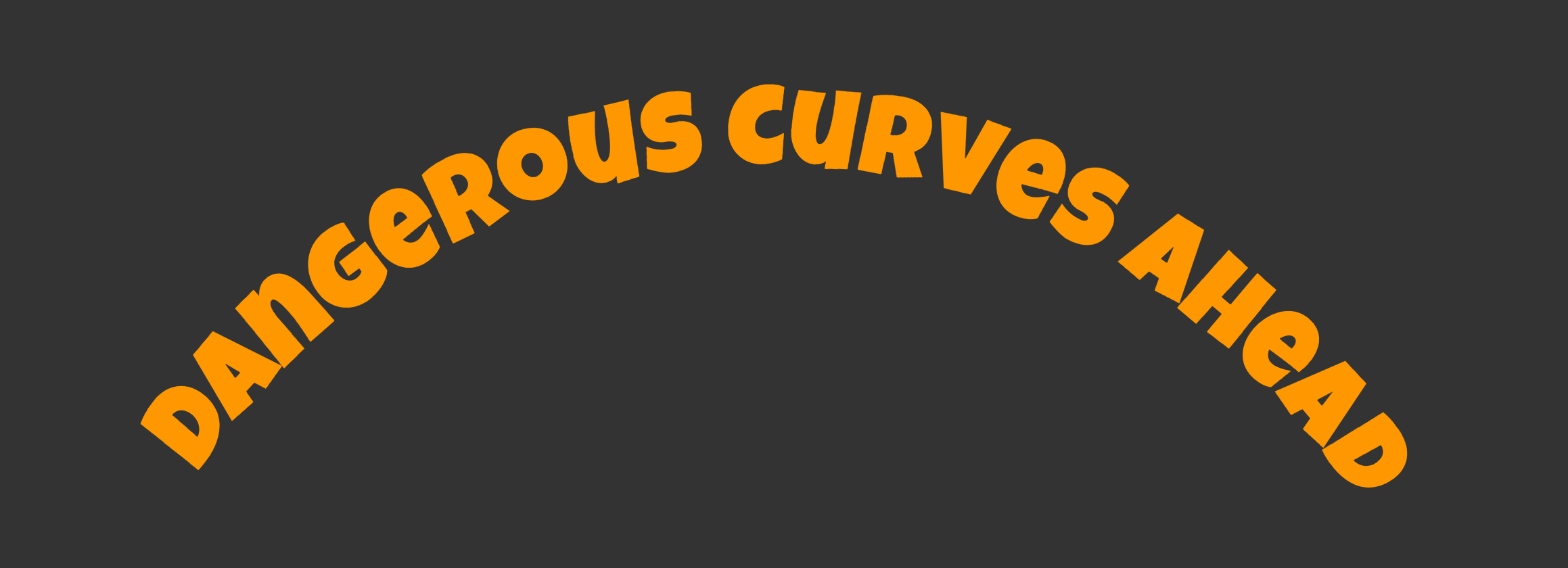 Curved Text Along a Path | CSS-Tricks