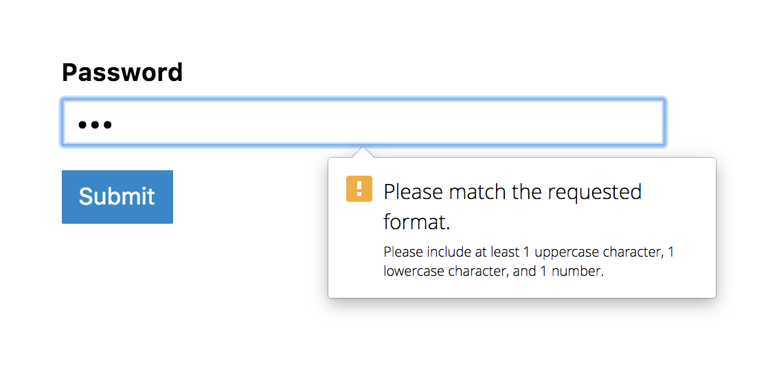 Form Validation Part 1: Constraint Validation in HTML | CSS