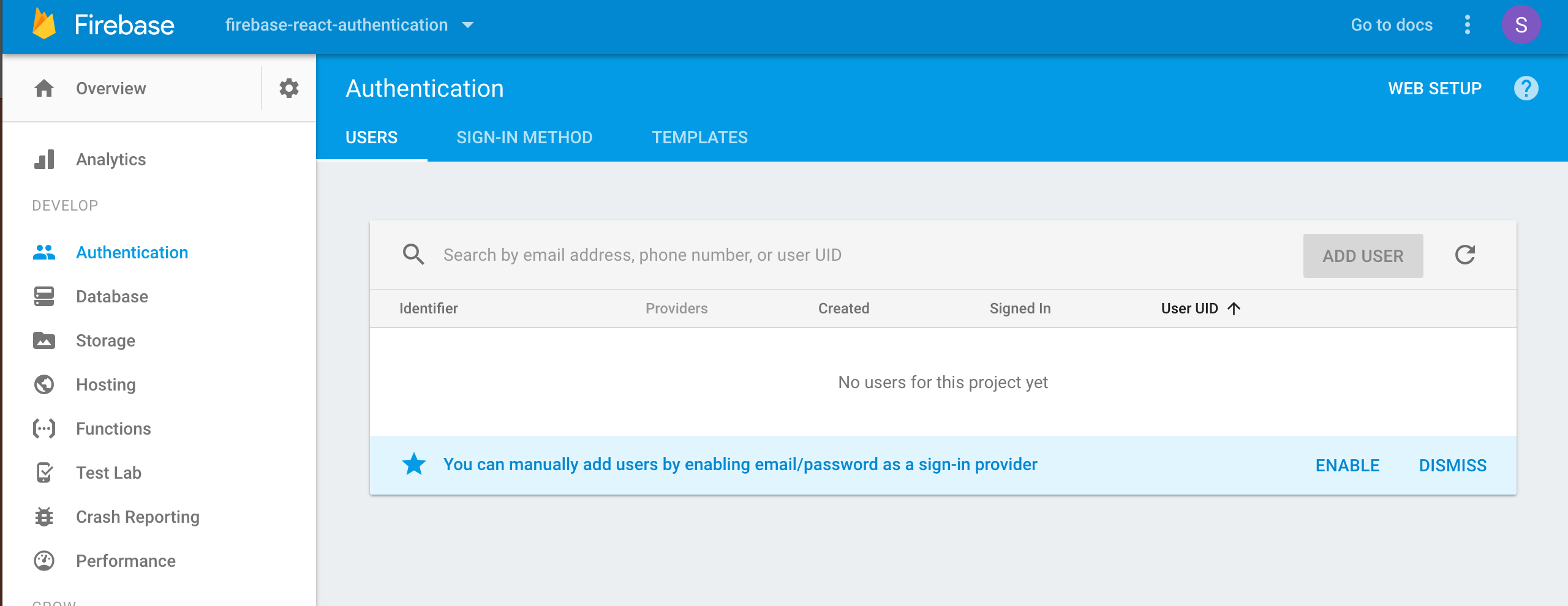 Firebase & React Part 2: User Authentication | CSS-Tricks