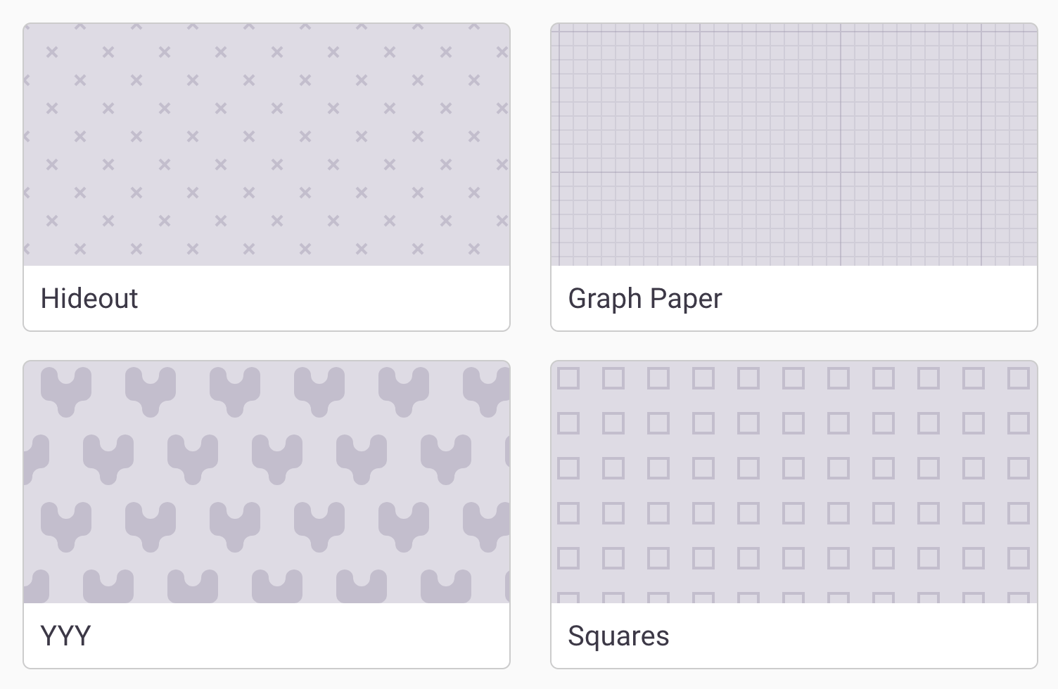 Simple Patterns for Separation (Better Than Color Alone
