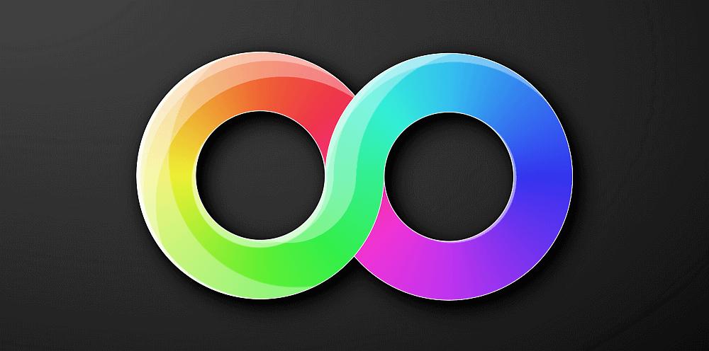 1 Element CSS Rainbow Gradient Infinity | CSS-Tricks