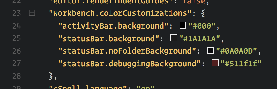 chill-status-bar On Switching Code Editors design tips