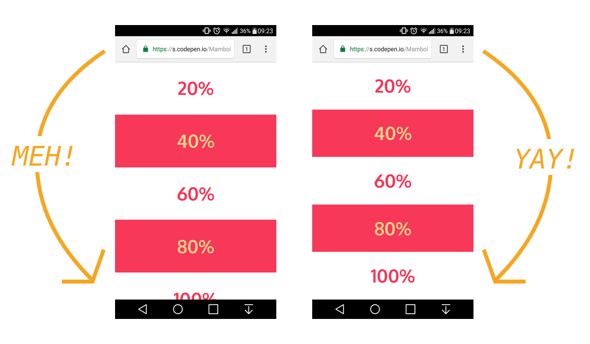 The trick to viewport units on mobile | CSS-Tricks