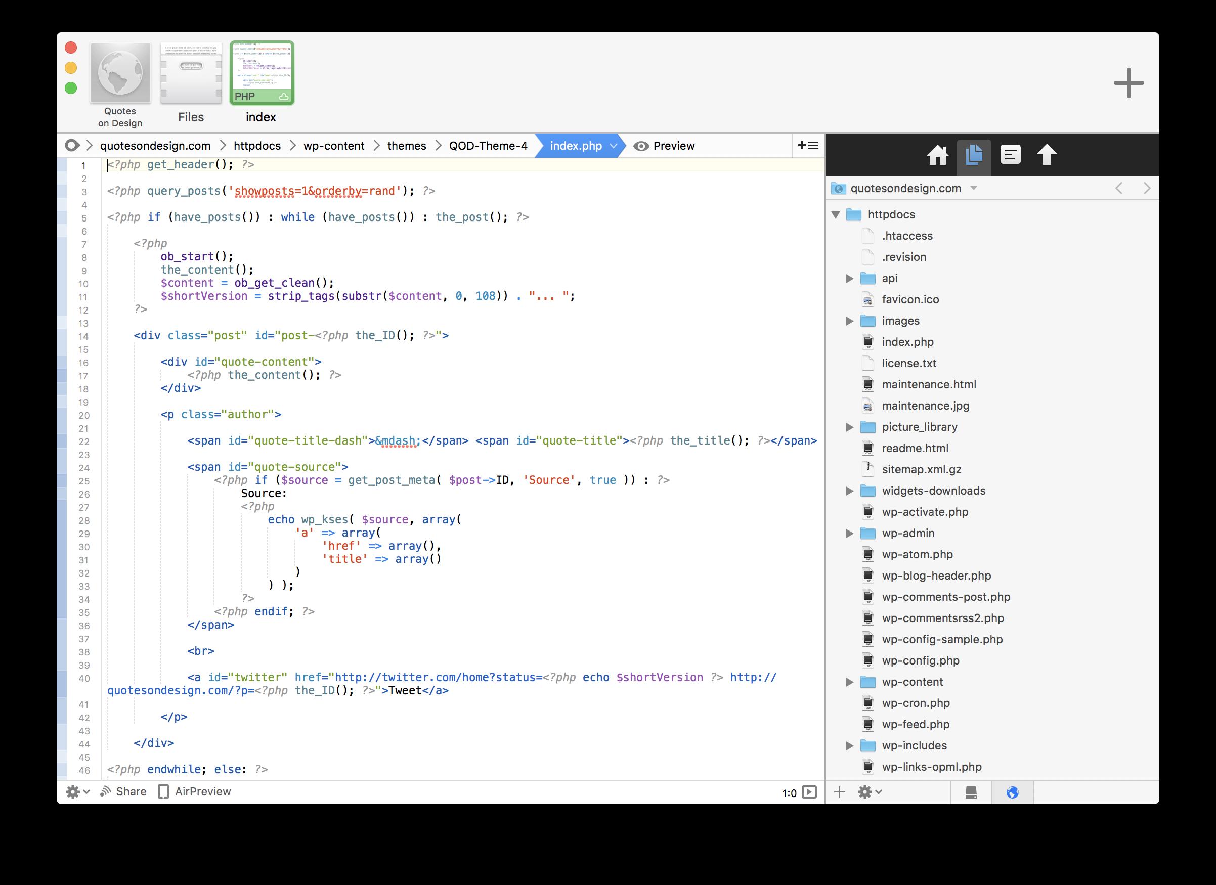 coda-1 Helping a Beginner Understand Getting a Website Live design tips