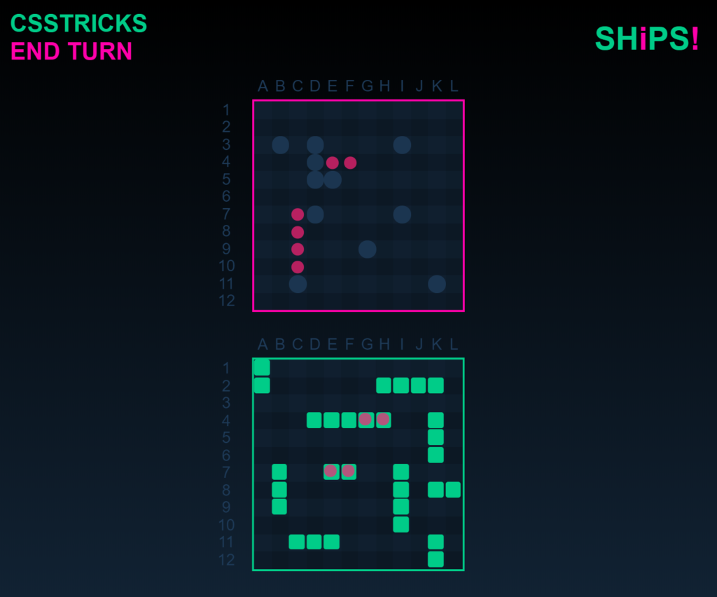 Building Battleship in CSS