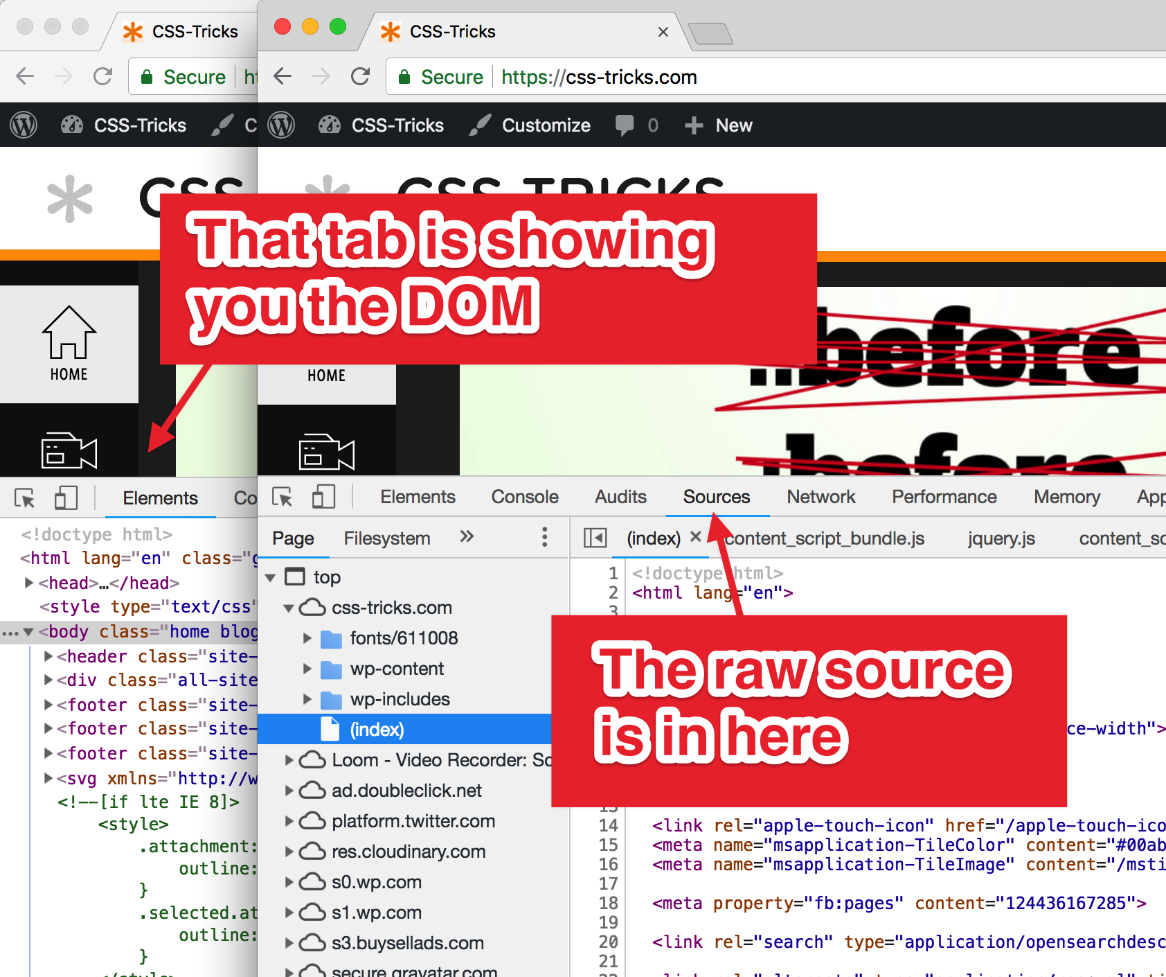 "viewsource ""View Source"" in DevTools design tips"
