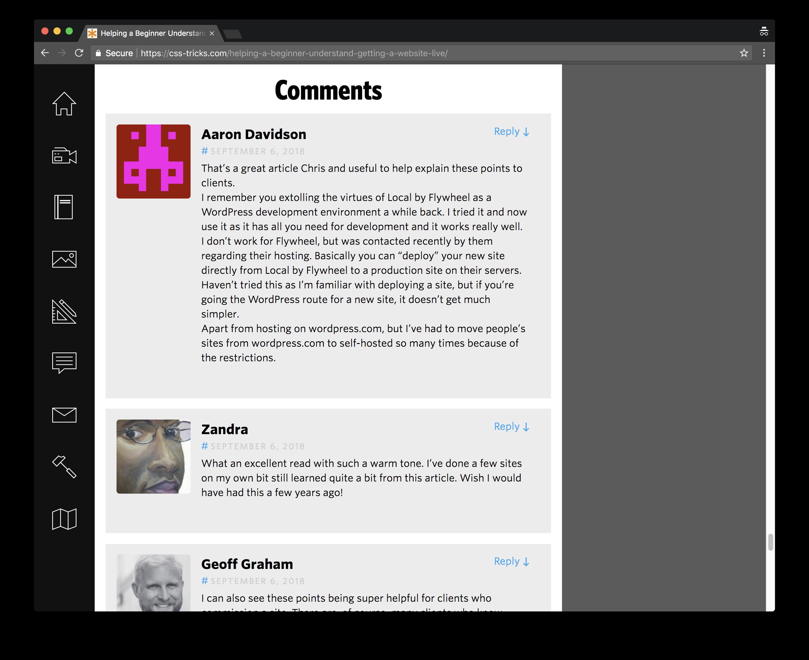 comments Jetpack's Social Integration Features design tips