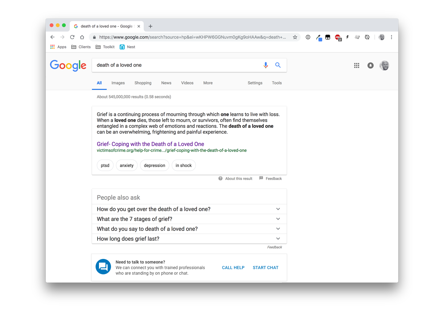 google-example-04 Preventing Suicide with UX: A Case Study on Google Search design tips