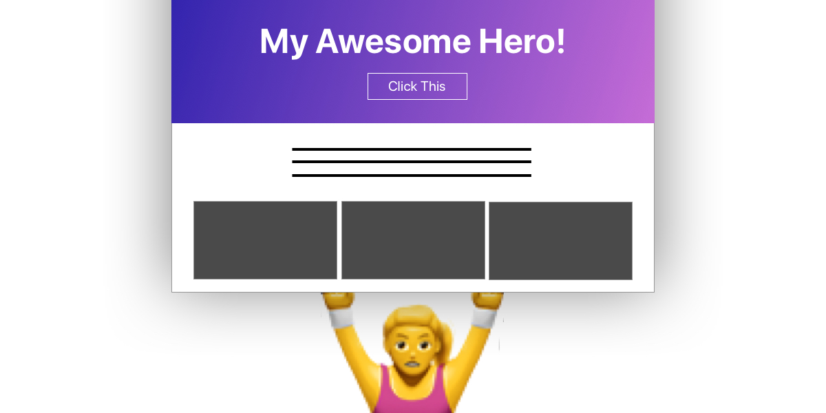 Fun Tip: Use calc() to Change the Height of a Hero Component - CSS Tricks [en] (Chris Coyier) @chriscoyier