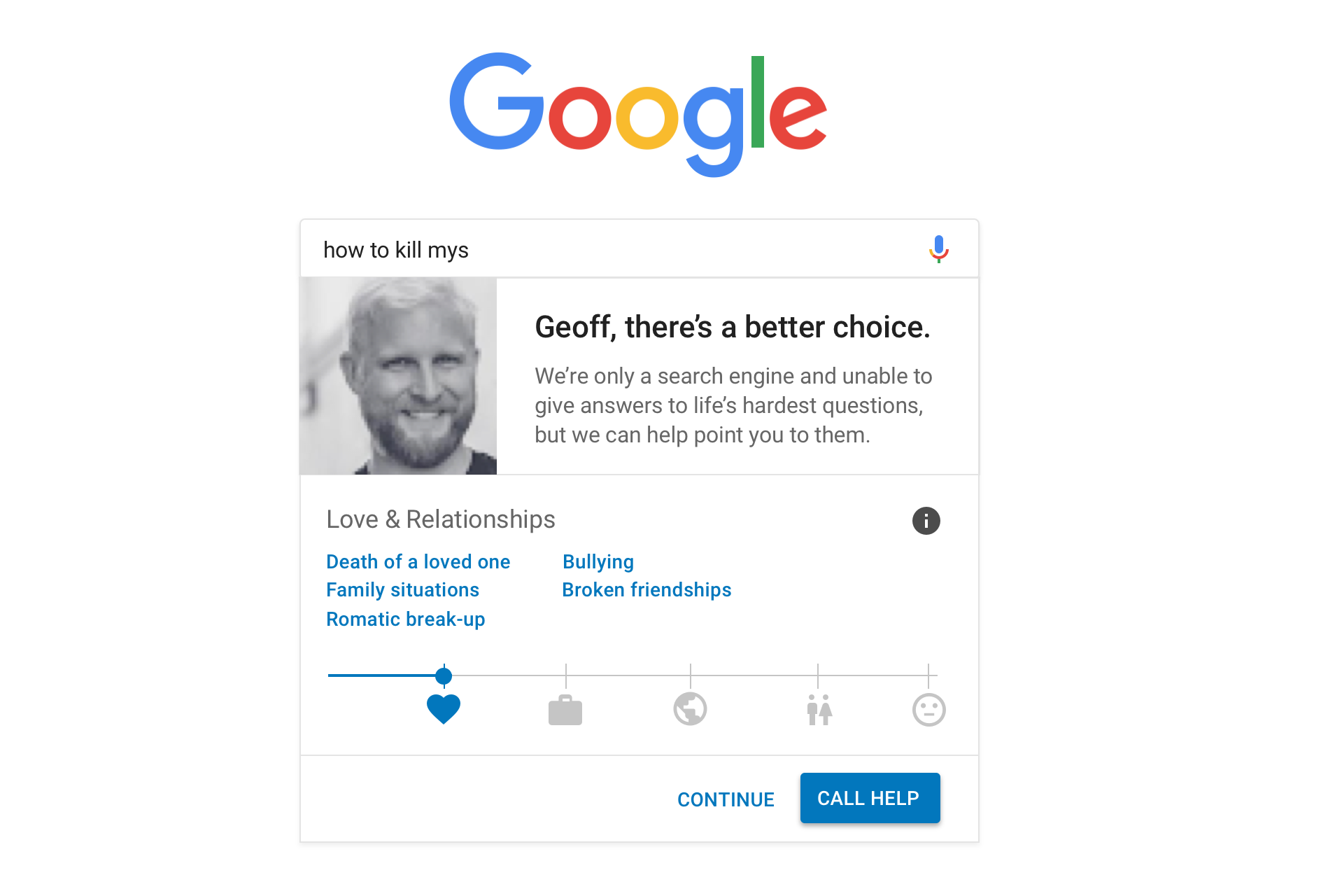 search-ux-02-a Preventing Suicide with UX: A Case Study on Google Search design tips