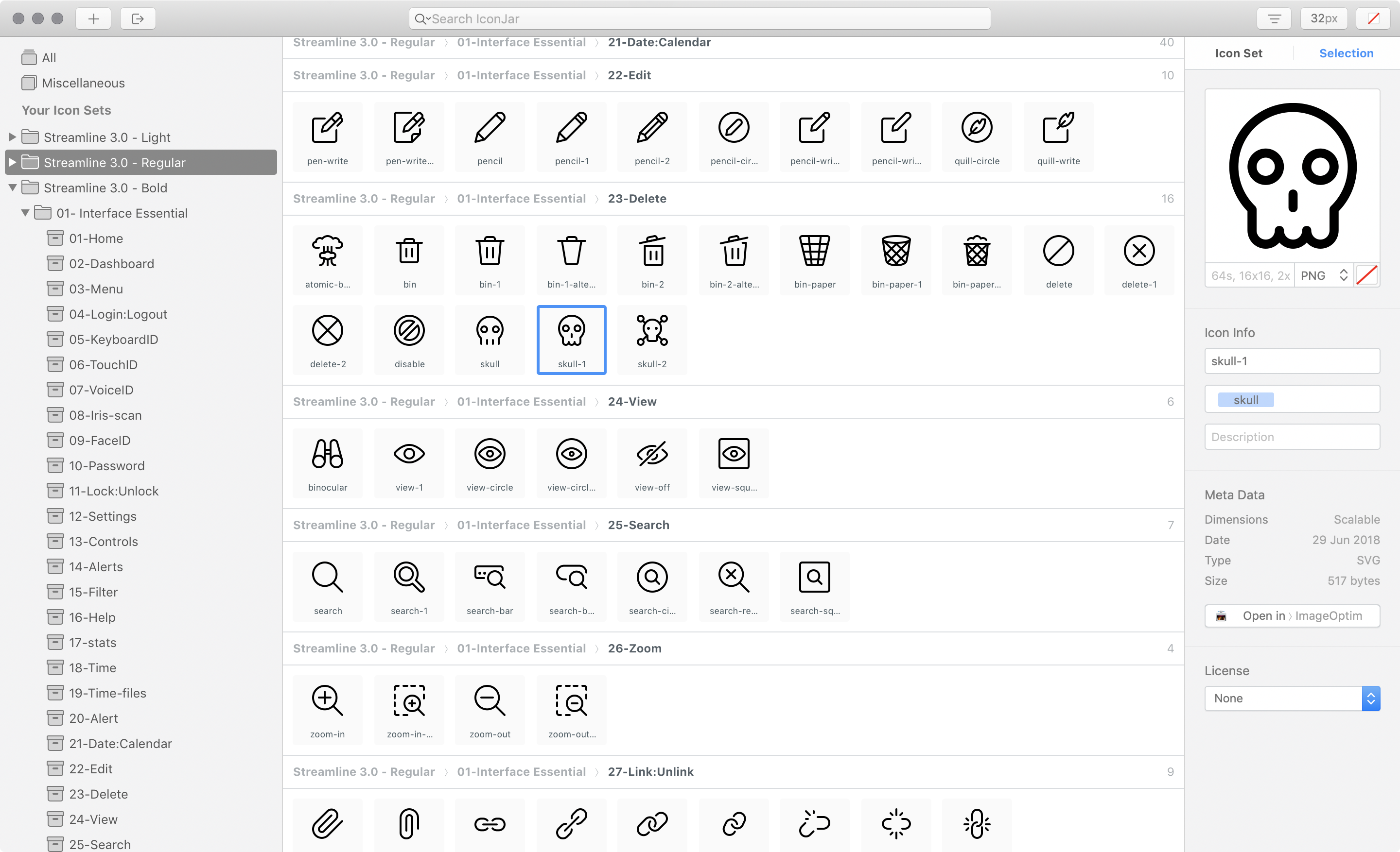 icon-jar Add Instant awesomeness to your interfaces with this insanely large icon set design tips